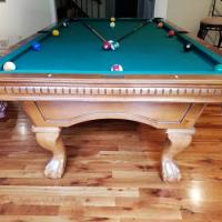 Liberty Pool Table with Ping Pong Table Top