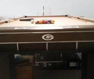 Gandy 9` Pool Table