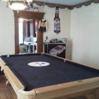 Regulation Steelers Pool Table