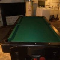 FatCat Pool Table with Air Hockey