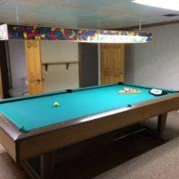 Brunswick Pool Table New Green Felt
