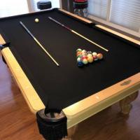 The C.L. Bailey CO. Pool Table