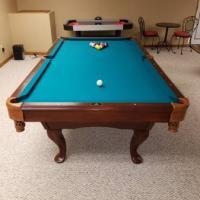 Legacy Billiards 8' Pool Table
