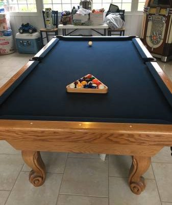 Pool Table Plus Extras